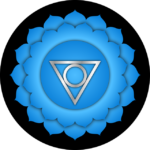 Throat Chakra Vishuddha Blue